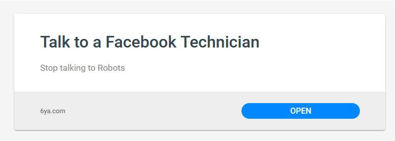 Facebook Technician